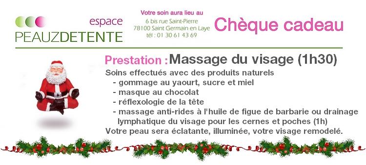 Chèque cadeau Noel 2015 Massage du visage_s