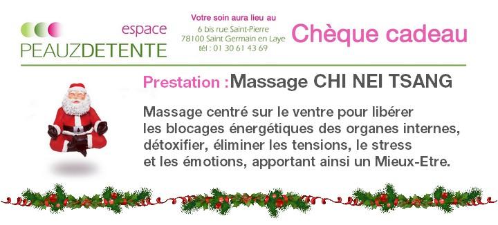 Chèque cadeau Noel 2015 massage CHI NEI TSANG_s